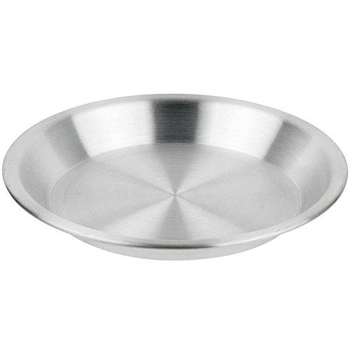 ROY PIE 10  -Royal Industries Pie Pan 10 Inside Diameter 1 14 Deep Aluminum 21 Guage Commercial Grade