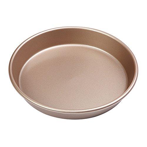 9 Inches Carbon Steel deep dish Non-Stick Baking Kitchenware Tart Pan Round Pizza Pan Pie Pans Quiche Tray