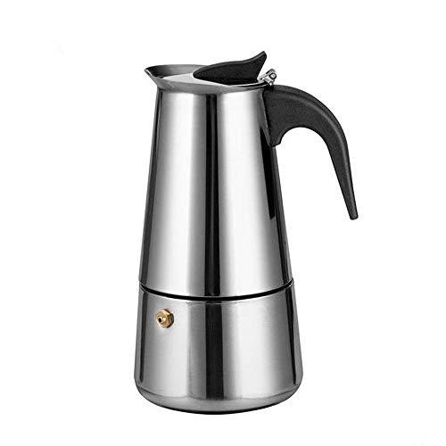 ZHCSS Stainless Steel Percolator Moka Pot Espresso Coffee Maker 450ml