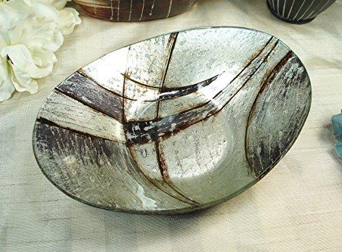 Dlusso Designs 365-3303 Murano Design Oval Dish Candice