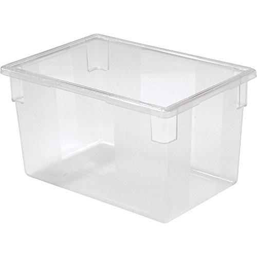 Rubbermaid Clear Plastic Box 21 12 Gallon 18 X 26 X 15 - Lot of 6