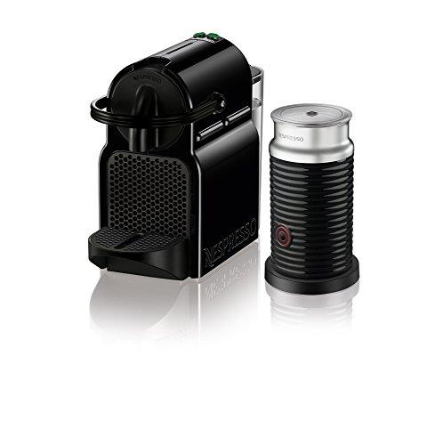 Nespresso Inissia Espresso Machine by DeLonghi with Aeroccino Black