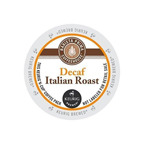 Barista Prima Coffeehouse Decaf Italian Roast KCups 96ct by Barista Prima