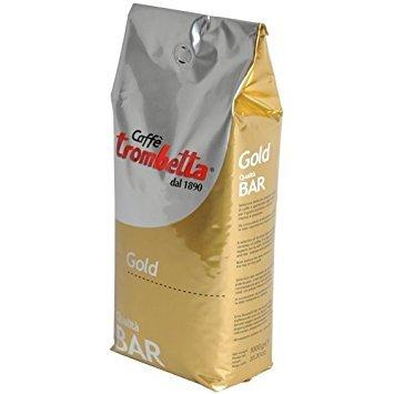 Trombetta Caffe Gold Bar Whole Espresso Coffee Beans 25 Pound Italian Coffee Beans Whole