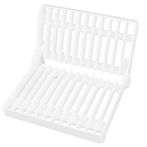 Kitchen Dish Plate Drying Rack Organizer Drainer Plastic Foldable Storage Holder