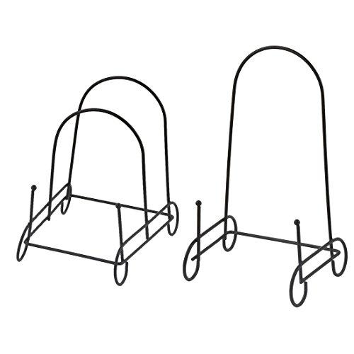 uxcell Metal Bowl Dish Plate Rack Drying Organizer Drainer Storage Holder Sink Cabinet Kitchen Restaurant 2 in 1
