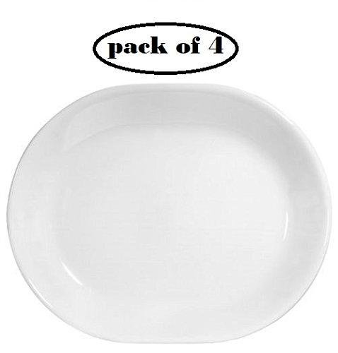 Corelle Livingware 12-14-inch Serving Platter Winter Frost White  4