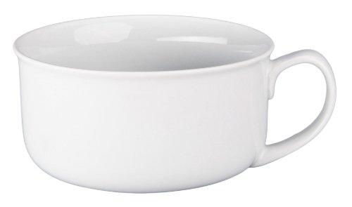 BIA Cordon Bleu Oversized Jumbo White Soup Bowl with Handle 20 Ounce