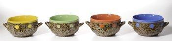 Southwest Soup Bowls with Handles Box Set
