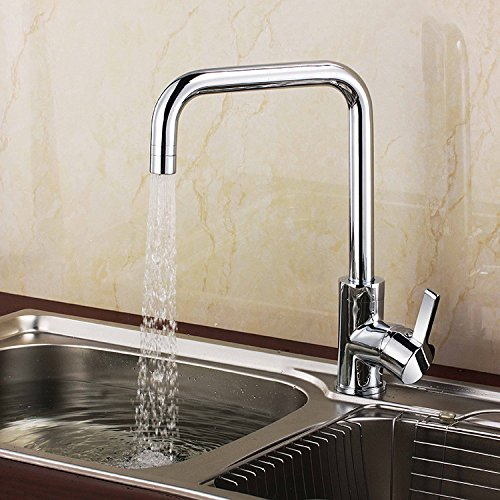 Furesnts Modern home kitchen and bathroom faucet Lift the kitchen-copper then the kitchen sink taps cutStandard G 12 universal hose ports