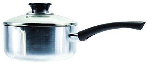 Euro-Ware Premium Heavy Gage Aluminum Sauce Pan 2 quart Stainless Steel