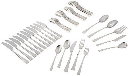 Gorham Biscayne 65-Piece Stainless Flatware Set Silver - 818552