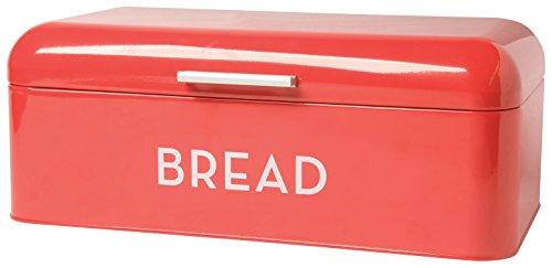 Now Designs Bread Bin Red