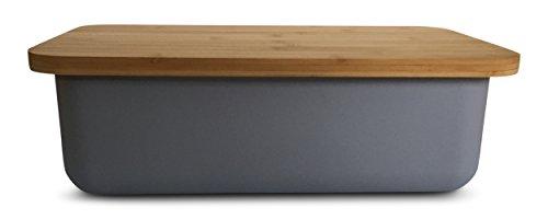 Bamboo Fiber Bread Box with Cutting Board