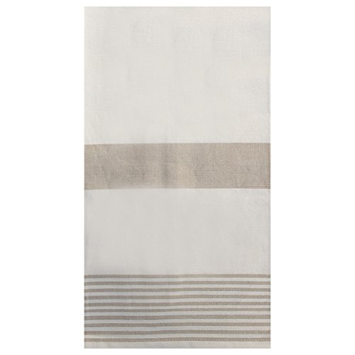 C F Enterprises Striped Kitchen Towel One Size Sandstone