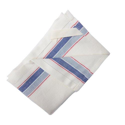 Striped Kitchen Towel 16in x 26in - Blue