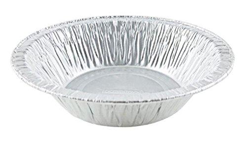 25 Pack 4-38 Aluminum Foil Tart Pan - Disposable Mini-Pie Plate Baking Tins