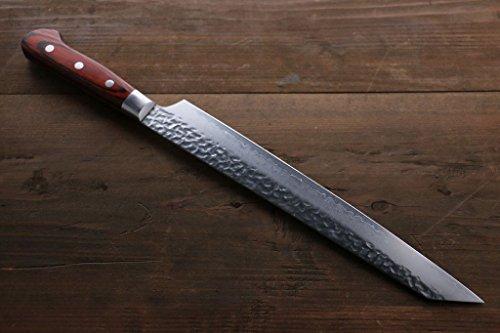 SAKAI TAKAYUKI VG10 33 LAYER DAMASCUS KIRITSUKE YANAGI JAPANESE CHEF KNIFE 270MM
