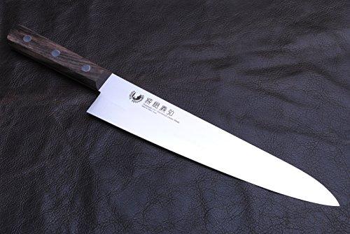 Yoshihiro Powdered Daisu Steel Stainless Gyuto Japanese Chefs Knife 95 Inch