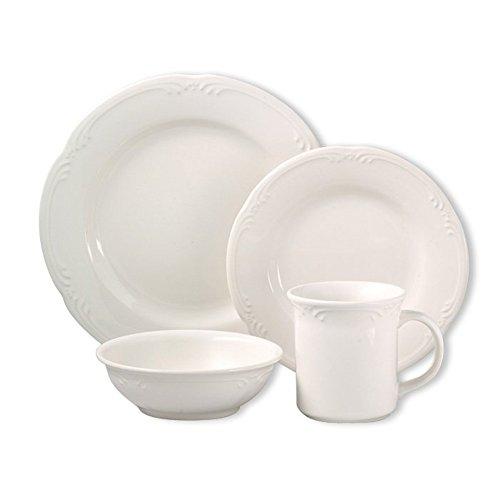 Pfaltzgraff Filigree 32 Piece Dinnerware Set Service for 8