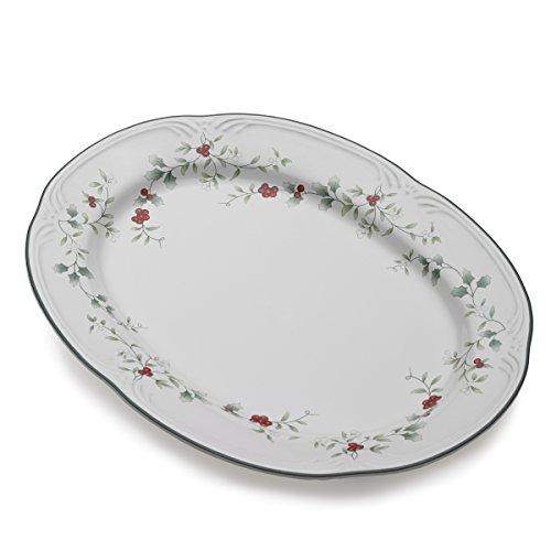 Pfaltzgraff Winterberry Stoneware Serving Platter 14-Inch