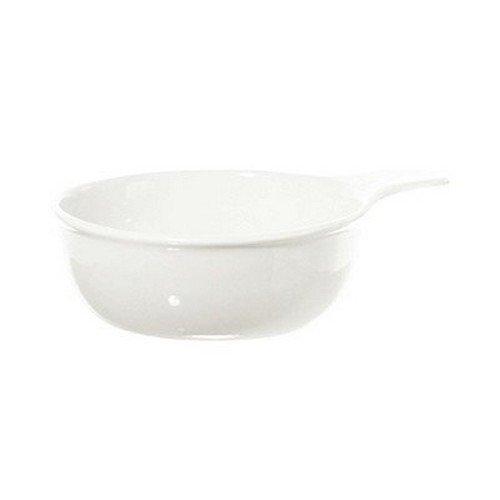 La Porcellana Bianca Terrine Bowl with Handle Set of 4 7 x 55 x 2