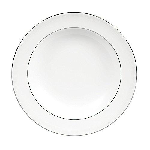 Vera Wang by Wedgwood Blanc Sur Blanc 9-Inch Rim Soup Plate