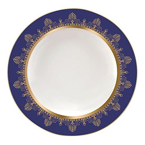 Wedgwood Anthemion Rim Soup Plate 9 Blue