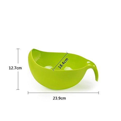Plastic Fruit BasketDrain TrayCreative Fruit Bowl-F