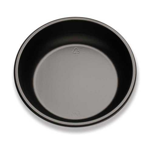 Trade Winds Black Plastic Bowl 24 Ounce -- 400 per case