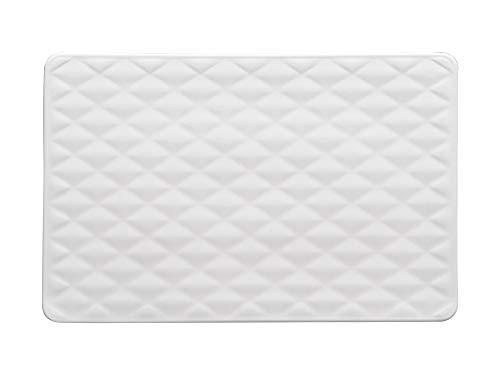 Maxwell Williams AX0057 White Basics Sequence Rectangular Porcelain Serving Platter in Gift Box