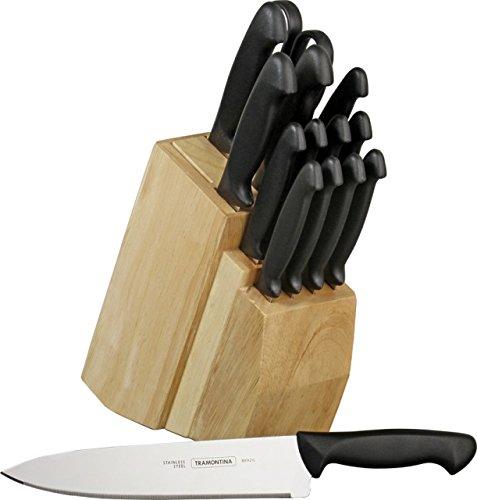 Tramontina 80020506 15 Piece Cutlery Block Set New in Box