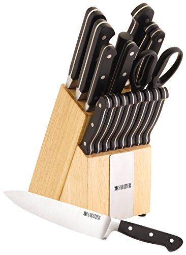 Sabatier 18Piece Classic Forged Cutlery Set  Black