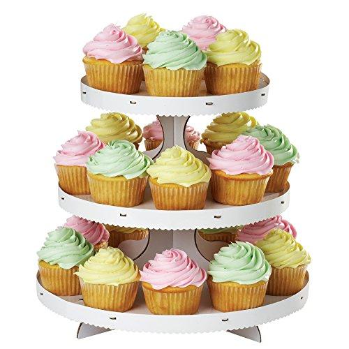 Wilton Cupcake 3-Tier Stand White