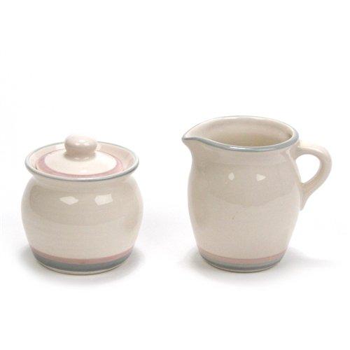 Aura by Pfaltzgraff Stoneware Cream Pitcher Sugar Bowl