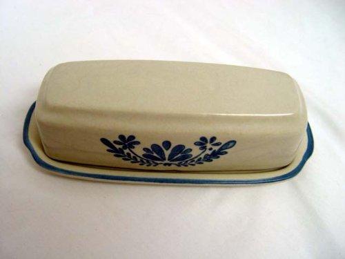 Pfaltzgraff USA Stoneware Yorktowne Quarter Pound Covered Butter Replacement Dish