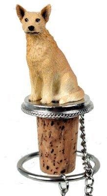 Australian Cattle Dog Red Wine Bottle Stopper - DTB87A