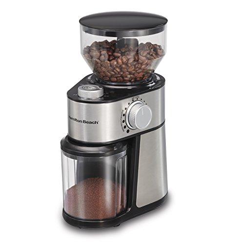 Hamilton Beach 80382 Burr 14 Cup Coffee Grinder Grey