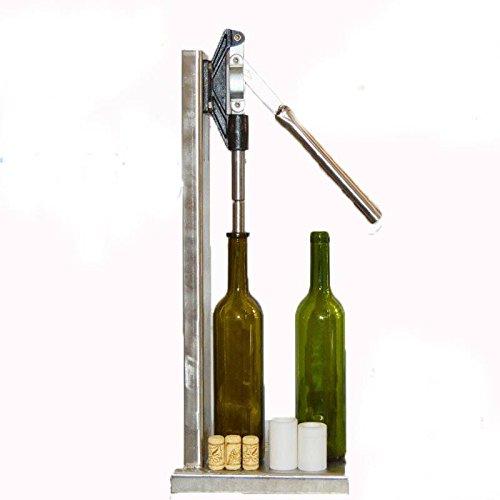 Stainless Steel Manual Bottle Corking Machine Home Brew Wine Bottle Cap Pressing 2 POM