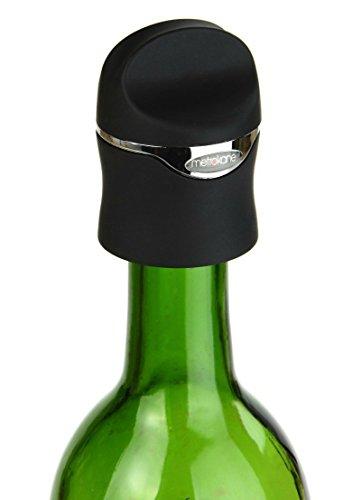 Metrokane Velvet Champagne and Wine Sealer Set of 2