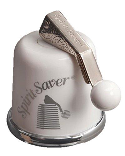 Diamond Resource SS-White Spirit Saver WineBottle Sealer White