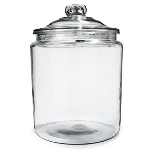 Anchor Hocking Heritage Hill Glass 05 Gallon Storage Jar Set of 1