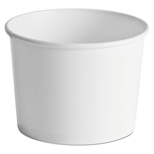 HUHTAMAKI - Paper Food Containers 64oz White 25pack 10 Packscarton  HUH60164   60164