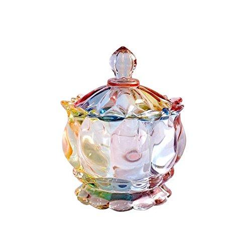 Glass Design Sugar Bowls Personalized Candy Dishes Sweet Jars Storage Jar