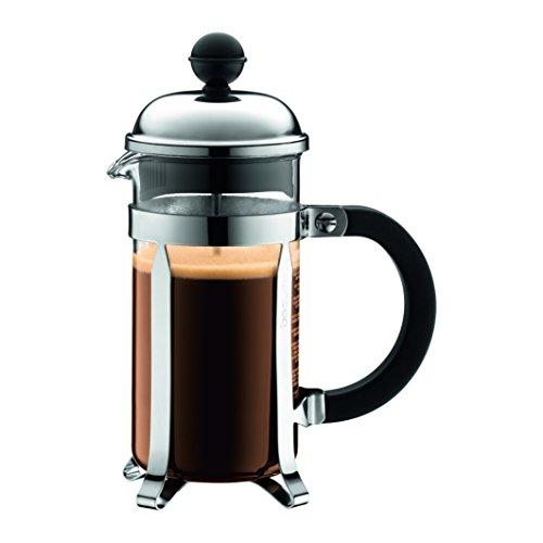 Bodum 1923-16US4 Chambord French Press Coffee and Tea Maker 12 oz Chrome Renewed