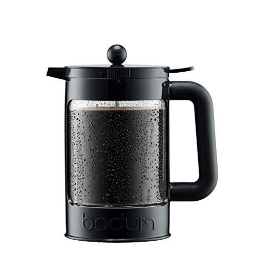 Bodum Bean Cold Brew Coffee Maker Press Plastic 15 Liter 51 Ounce Black