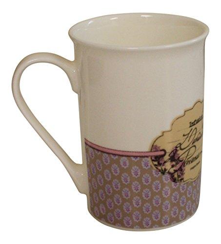 8 oz Coffee Mug Ceramic French vintage design Lavande de Provence