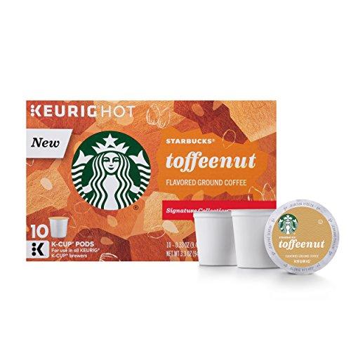 Starbucks Toffeenut Keurig Pods Flavored Coffee - 60 Single Serve K-Cups