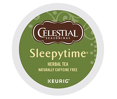 Celestial Seasonings Sleepytime Herbal Tea K-Cup Portion Pack for Keurig K-Cup Brewers 24-Count