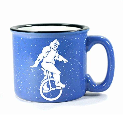 SASQUATCH Camp Coffee Mug - OCEAN BLUE